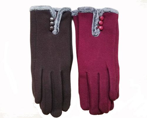 Дамски ръкавици с копчета