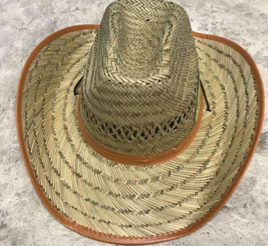 Каубойска сламена шапка