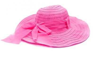 Дамска шапка в цикламено