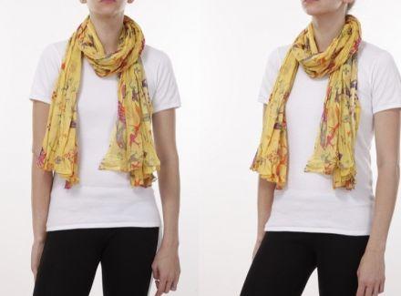 Памучен шал