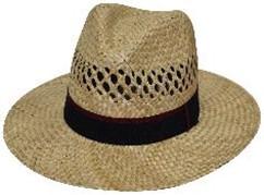 Мъжка сламена шапка класик