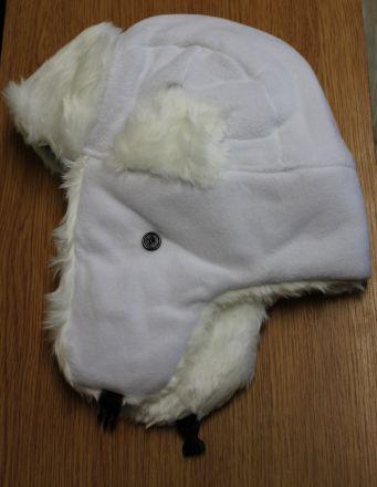 Ушанка бяла